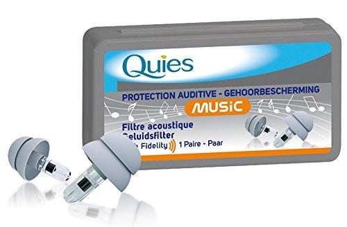 Quies Music Ear Plugs 1 Pair (Quies Ear Plugs)