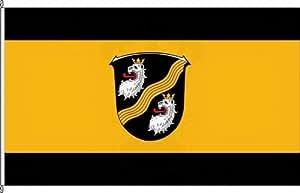 Anwesenheitsbanner Düdesheim - 40 x 250cm - Flagge und Banner