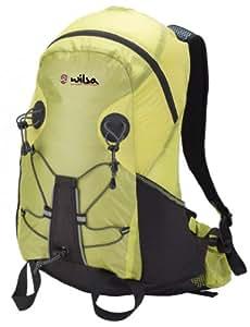Wilsa sac à dos Plume 30 L (Plume 30 L), léger, ergonomique, confortable, pratique, résistant, vert, parfait pour la pratique de raid, VTT ou escalade