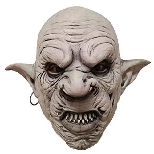 Weiblich Das Kobold Kostüm - Halloween Maske Gruselige Latex Cosplay Scary Maske Horror Adult Kostüm Zubehör Horror Variante Person Kobold