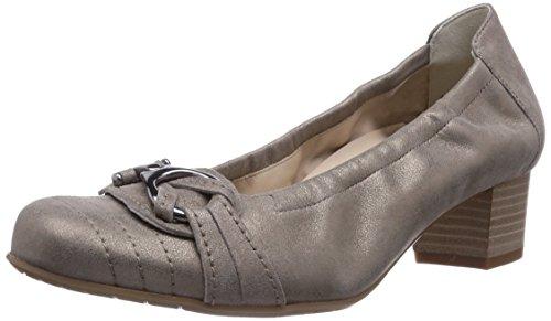 Semler - Cleo, Scarpe Col Tacco da donna Beige (Beige  (005 asphalt))