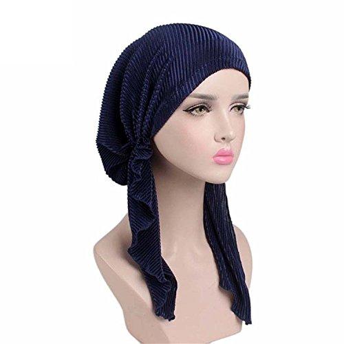 EINSKEY Kopfbedeckung Chemo Damen Bandana Kopftuch für Krebs, Chemotherapie, Haarausfall, Schlaf, Make up