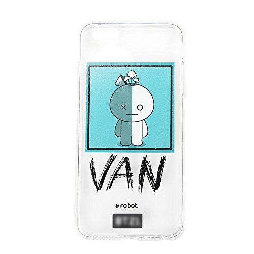 (Yovvin BTS Handyhülle | KPOP Bangtan Jungen Ultra-dünn Anti Rutsch Handy Hülle & Case für The Army(iPhone 6 Van))