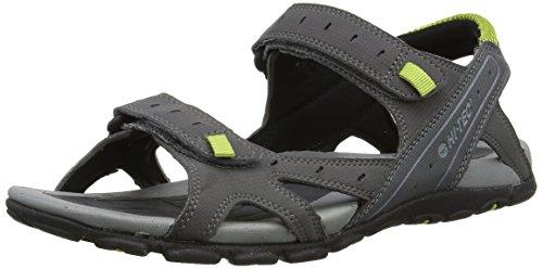 hi-tec-laguna-strap-mens-sandals-charcoal-black-chartreuse-11-uk
