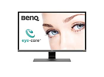 BenQ EW3270U 4K HDR Video Enjoyment Monitor, UHD, VA, 95 Percent DCI-P3, 31.5 Inch, Brightness Intelligence Sensor, Metallic Grey