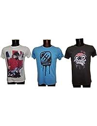 T shirt Freegun adulte Pack assorti lot de 3