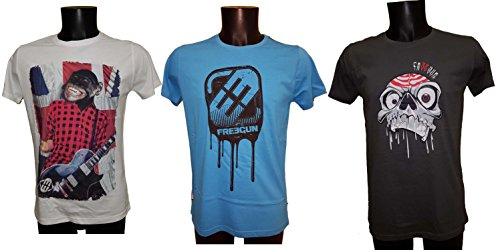 Freegun Herren T-Shirt Assort 3