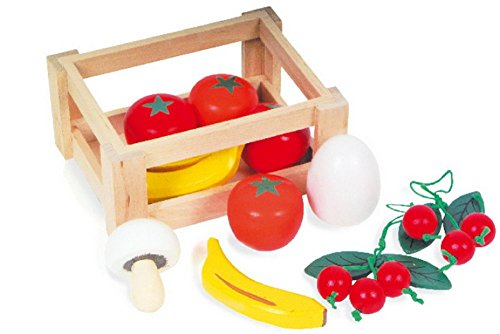 Small Foot Company 7122 - Obstkiste aus Holz
