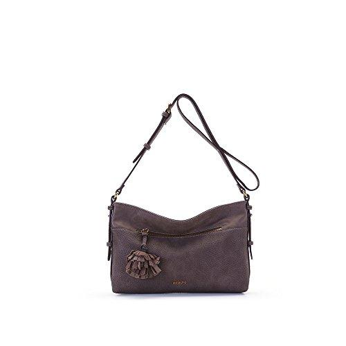 Abbacino - Lauren, borsa Donna Marrone (Brown)