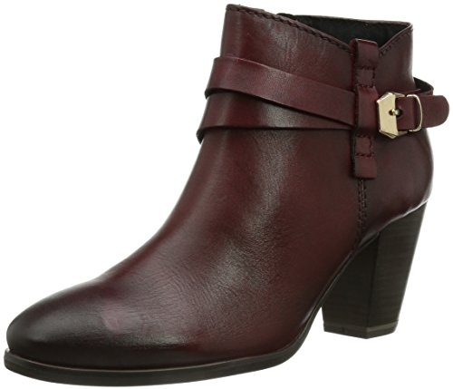 Marco Tozzi Premio 25390 Damen Kurzschaft Stiefel Rot (Vino Antic / 503)