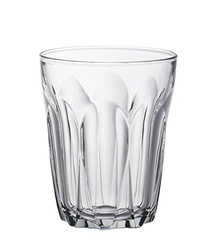 Duralex Provence Wasserglas 250ml, ohne Füllstrich, 6 Stück