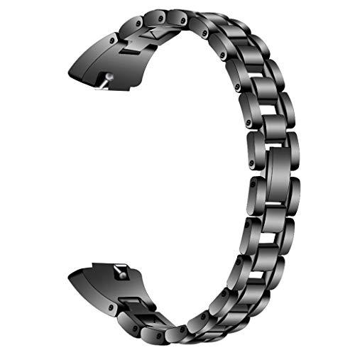 Fashion Women 's Dress Uhrenarmband, Dkings Diamond Edelstahl Uhrenarmband Kompatibel mit Fitbit Inspire/Inspire HR, Perfect Jewelry Accessory