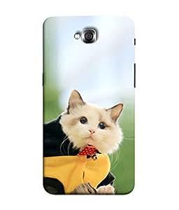 PrintVisa Cute Bobcat 3D Hard Polycarbonate Designer Back Case Cover for LG G Pro Lite :: LG Pro Lite D680 D682TR :: LG G Pro Lite Dual :: LG Pro Lite Dual D686