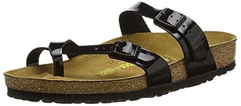 Birkenstock Mayari, Women's Sandals, Black (Black Patent), 7 UK (40 EU)
