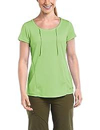 Maier Sports Damen Katniss Funktionsshirt Sommershirt Summer Green