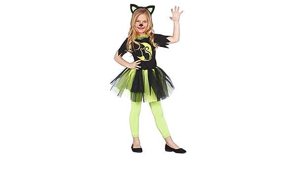 Cat Tutu Dress Girls Cat Fancy Dress Cotume Ages 4-12 Halloween Kitten New