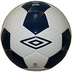 Umbro Neo 150Futsal Liga de Fútbol/Futsal–Balón de fútbol indoor Football Blanco de color azul oscuro