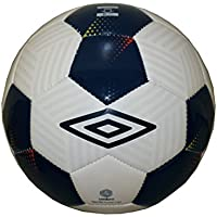 Umbro Neo 150 Futsal Liga Ball/HALLEN di calcio indoor Football Bianco Blu Scuro, Futsal