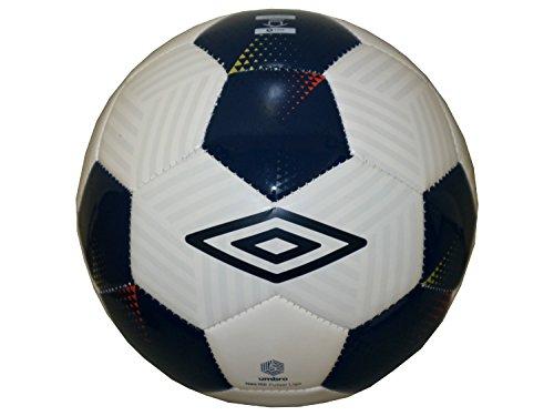 Umbro Neo 150Futsal Liga de Fútbol/Futsal–Balón de fútbol indoor Football Blanco de color azul oscuro, Futsal