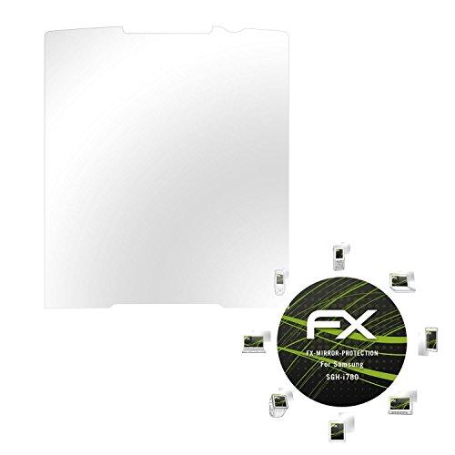Samsung SGH-i780 Spiegelfolie - atFoliX FX-Mirror Displayschutz mit Spiegeleffekt