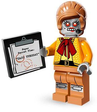 Preisvergleich Produktbild THE LEGO MOVIE - 71004 - VELMA STAPLEBOT MINIFIGUR