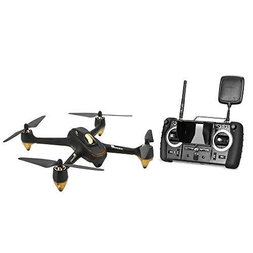 HUBSAN Quadcopter Drone X4 H501S Profesional Version 5.8G FPV Brushless Advanced Version RC (Black)