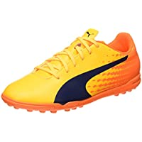 Puma Herren Evospeed 17.5 TT Fußballschuhe, Gelb (Ultra Yellow-Peacoat-Orange Clown Fish 03), 42 EU