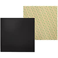 Wisamic Cama térmica de 300 mm x 300 mm con impresión 3D magnética con adhesivo 3M para impresoras 3D MK2/MK2A, Reprap, Mendel