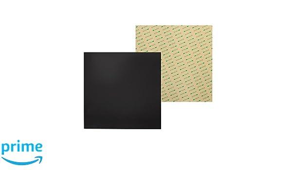 Wisamic 235/mm x 235/mm magnetico superficie di stampa 3D calore letto con adesivo 3/m per stampanti 3D Ender 3