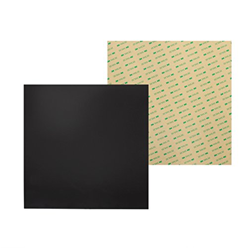 Wisamic 300 mm x 300 mm Magnetik Druckplatte 3D Drucker Aufbau Oberflächen 3D Drucker Platte mit 3M Kleber für 3D Drucker MK2