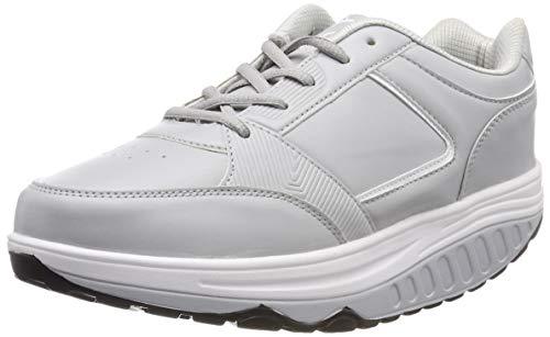 Sneaker adelgazantes para mujer, montadas sobre una suela de goma ampliada. Se trata de calzado diseñada para recuperar la forma física caminando: favorecen el adelgazamiento, rassodano los músculos y mejoran la salud cardiovascular. reducen la celul...