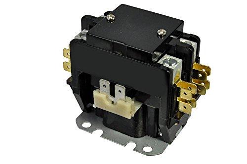 Pole 40 Amp (Packard Packard-C240A leistungsschütze 2Pole 40Amps 24Coil Spannung)