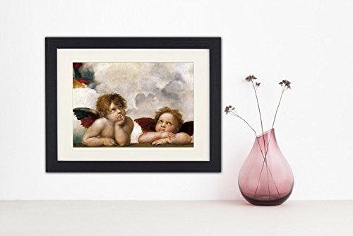 1art1 113473 Raphael – Raffaels Engel (Detail) Gerahmtes Poster Für Fans Und Sammler 40 x 30 cm