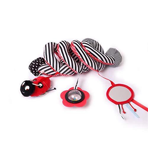iStary Baby Bett Anhänger Hängen Spielzeug Nette Tier Geklapper Krippen Auto Hängender Kinderwagen Glocken Babyrasseln Mit Ringen Zum Beißen Für Baby Ab 0 Monat