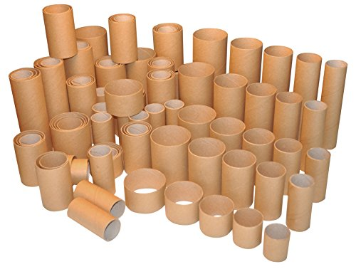 Playbox 2471331 Pappröhre, 100 Stück, Mehrfarbig