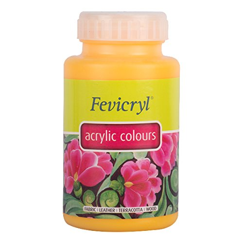 Pidilite Fevicryl Acrylic Colour (500 Ml): Golden Yellow