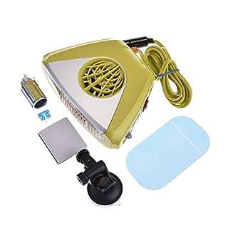 Aozzy Portable Heater Defroster Fan,150W Car Heater Defroster Snow Melter Fan 12V Heater Defroster Fan,Windscreen Window Demister Melter Defogger.