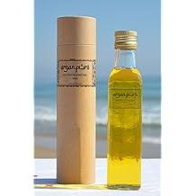 Aceite de ARGAN Cosmetico 100% Puro [_250 ML_], BIO, 1ª Presion en Frio, para piel y cabello.