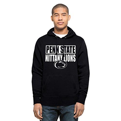 47 Brand NCAA Herren Headline Pullover Penn State Nittany Lions Hoodie, Gr. XL, Herbstmarineblau Penn-fleece-pullover