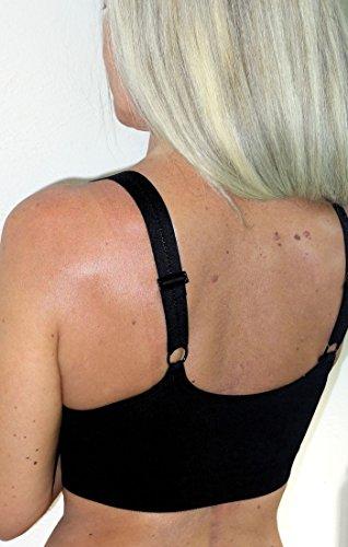 Soutien-gorge spécial pour augmentation mammaire ou Sports Blanc