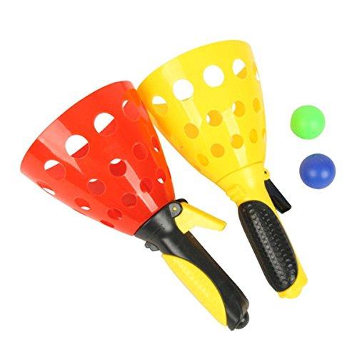 LEORX Fangballspiel Set Ballspiele Spielzeug Set