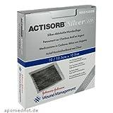 actisorb 220plateado 10,5x 10,5cm-10compresas estériles