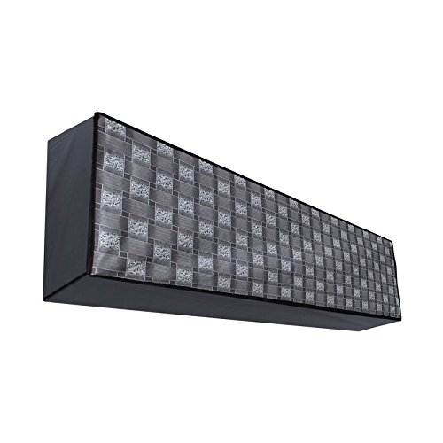 Dream Care Classic Grey Printed AC Cover for Voltas 123 Lye 1 Ton 3 Star Split IN Unit  available at amazon for Rs.349