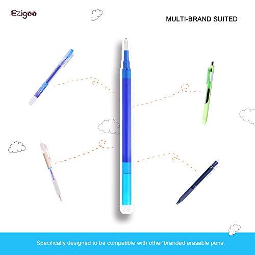 comprare on line Ricariche Penne Cancellabili Punta 0,7 mm – Confezione da 9 Ricariche Blu - Ezigoo prezzo