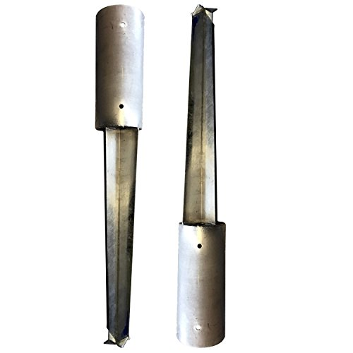 Preisvergleich Produktbild Bodenhülse zum Einbetonieren Ø121mm/900mm lang