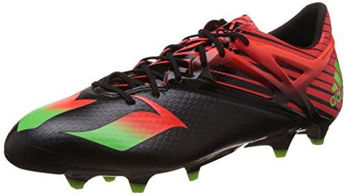 adidas Messi 15.1 Fg/Ag, Scarpe da Calcio Uomo Multicolore (Core Black/Solar Green/Solar Red)