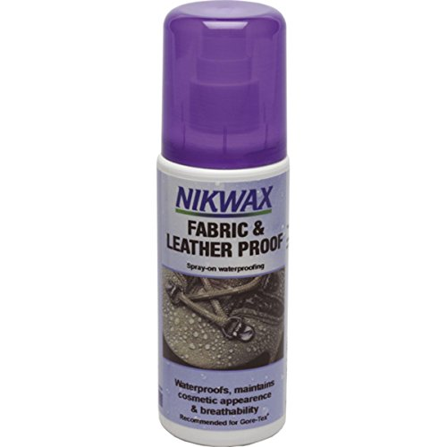 Nikwax Stoff und Leder Imprägnierung, 125ml Schuhpflegemittel, transparent, 125 ml