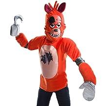 Five Nights at Freddys Deluxe Foxy Kids Fancy dress costume Medium
