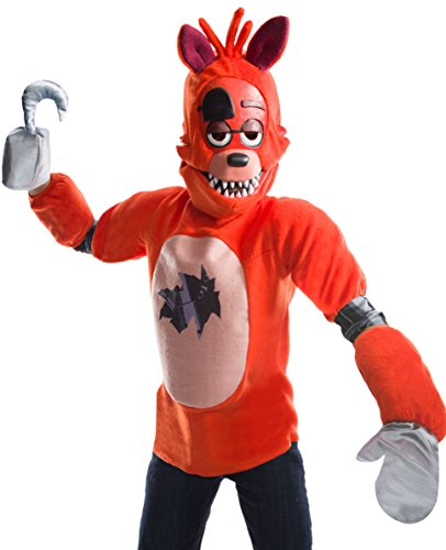 Five Nights At Freddy's Foxy Costume Top Child Medium