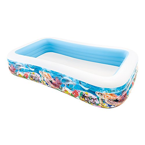 Intex 58485NP - Piscina hinchable tropical 305 x 183 x...